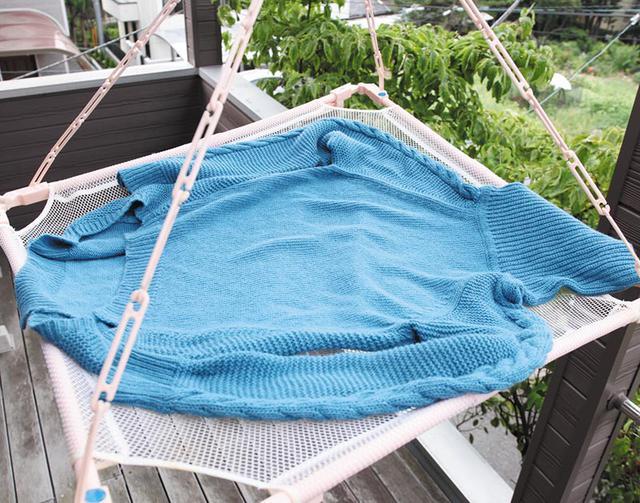 画像3: ウール・ポリエステル・アクリル混紡のセーターの洗い方