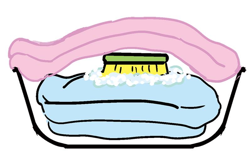 画像: シミ抜きの方法