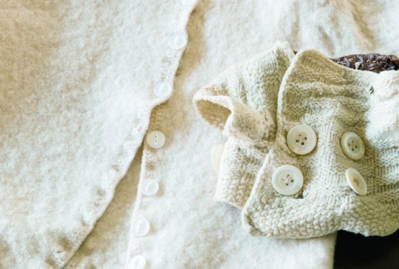 画像: 古いボタンが欲しいときは、それが付いた古着を買うのもアイデア