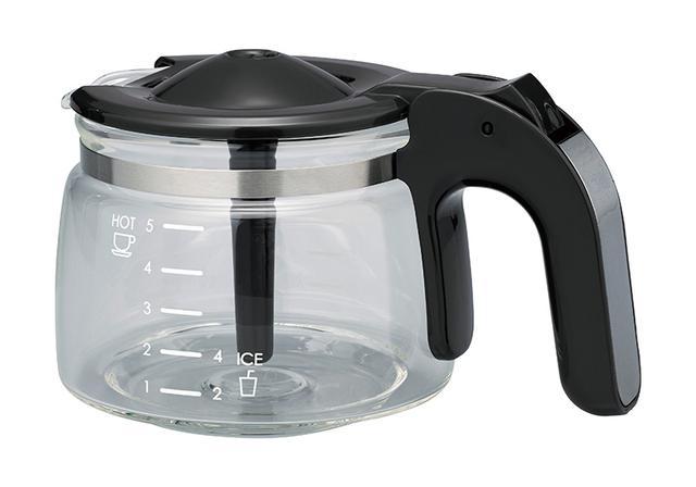 画像: 最大5杯分まで一度にコーヒーが淹れられます