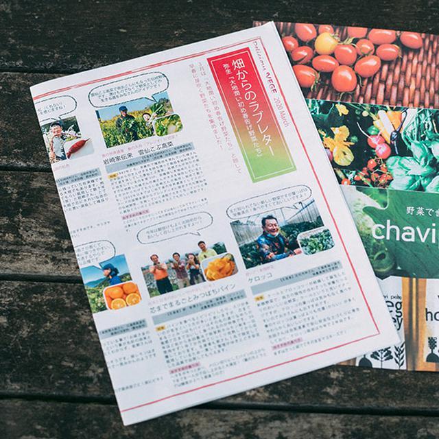 画像: 「ベジバルーン」に同封される冊子。おすすめの食べ方などを記載