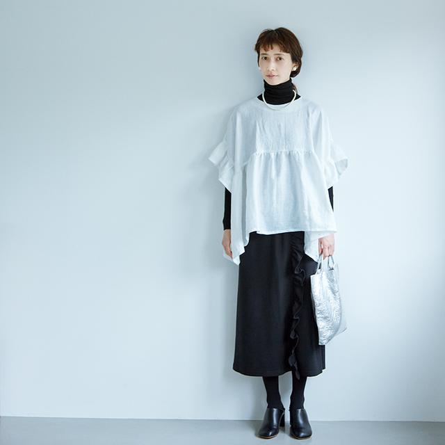 画像: スカート 5,900円/アヴェクモワ(フェリシモ)
