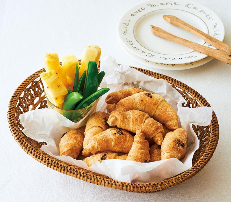 画像2: 巻頭料理 枝元なほみさん ホットサンドとクイックパン