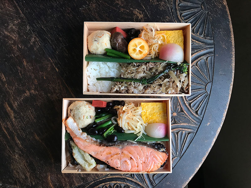画像: 「円卓」のお弁当。好きな作り手と出会うと、またオモテ市に行きたくなる。