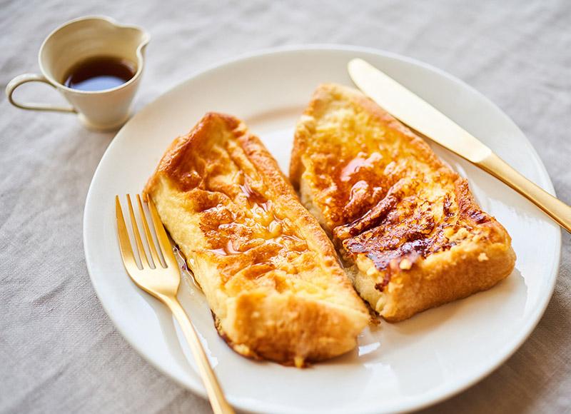 画像: 甘酒フレンチトーストのつくり方