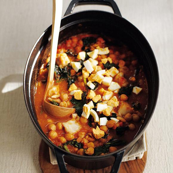 画像: たらとひよこ豆の煮込みのつくり方