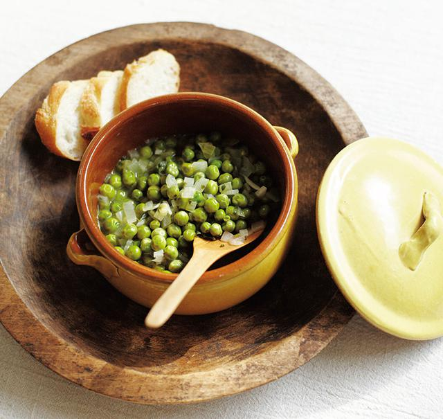 画像: グリーンピースのハーブ風味のつくり方