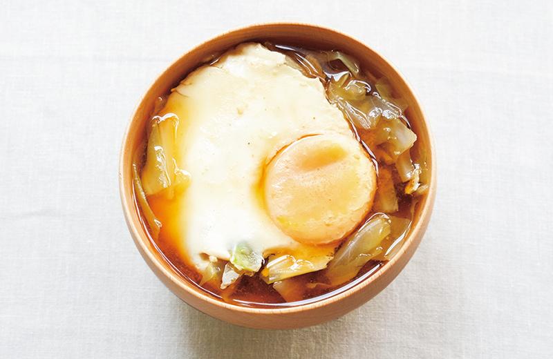 画像: お手軽気血ごはん 卵料理 みそ汁の卵落とし