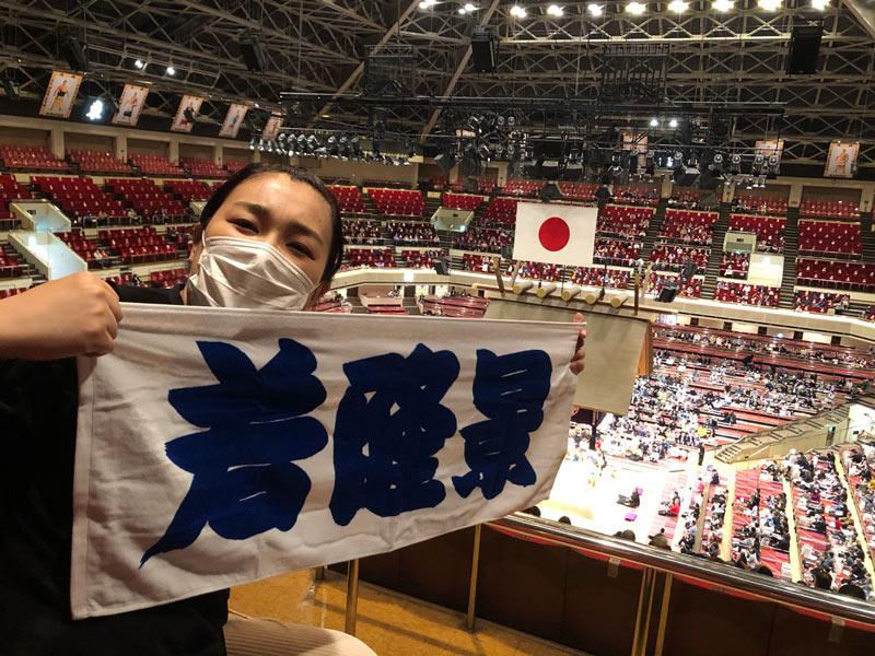 画像2: 国技館で大相撲観戦