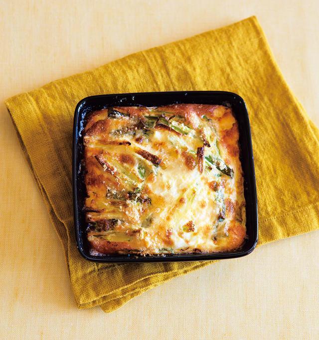 画像: 春の玉子料理 「かんたんキッシュ」のつくり方
