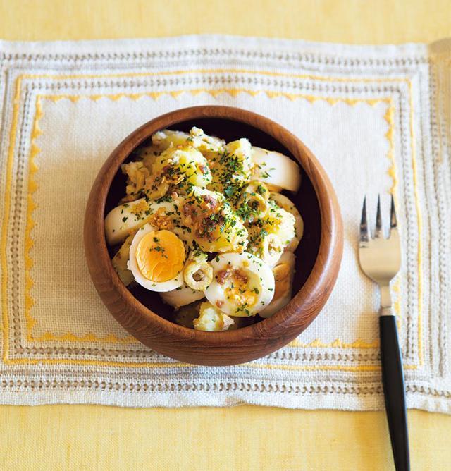 画像: 春の玉子料理 「卵とじゃがいものサラダ」のつくり方