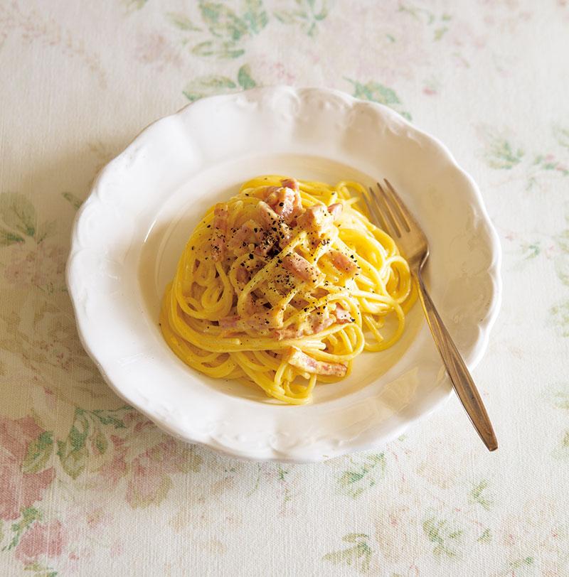 画像: 春の玉子料理 「スパゲティ・カルボナーラ」のつくり方
