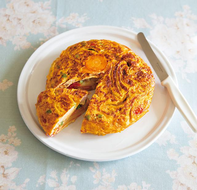 画像: 春の玉子料理 「スパニッシュオムレツ」のつくりかた