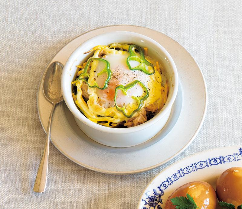 画像: 春の玉子料理 「卵のココット焼き」のつくり方