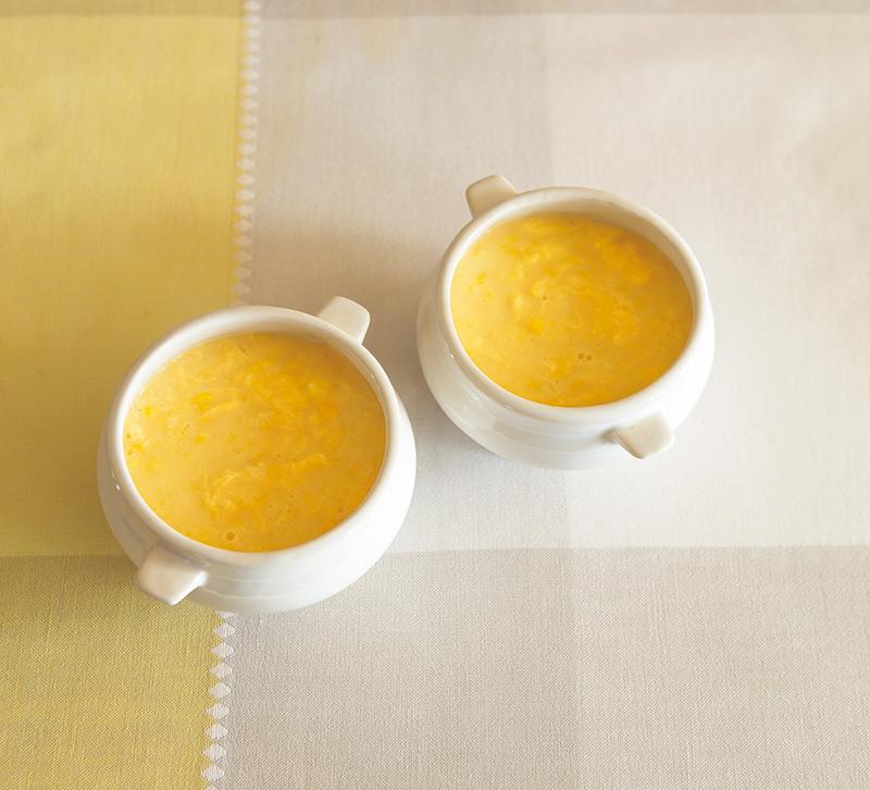 画像: 春の玉子料理 「卵のコーンスープ」のつくり方