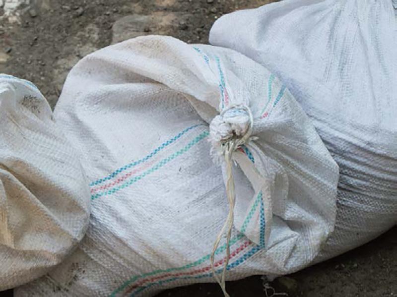 画像: 土のう袋