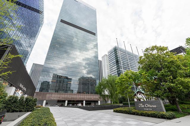画像: 2019年に開業した「The Okura Tokyo」外観