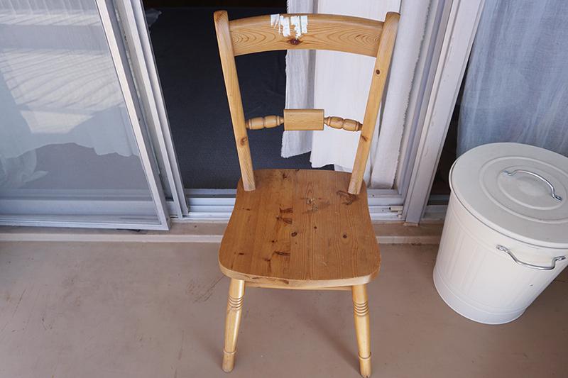 画像1: 好みに合わない椅子をペイントでイメージチェンジ