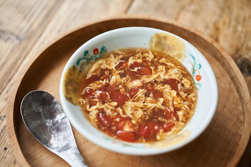 画像: トマト酸辣湯のつくり方
