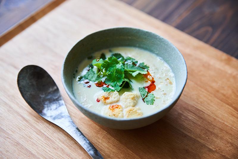 画像: 5分でできる、鹹豆漿(台湾風豆乳スープ)のつくり方