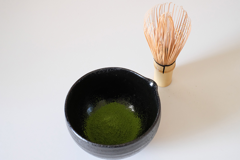 画像: 濃いめの抹茶をつくる
