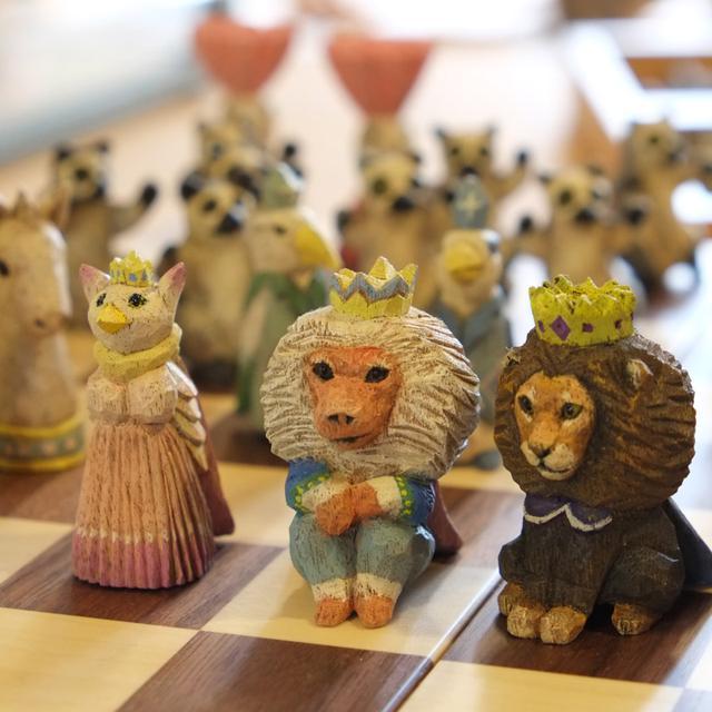 画像: 彫刻家はしもとみおさんの作品 チェス