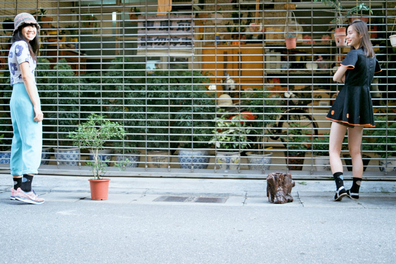 画像5: 松山高校の裏路地は、私たちのホーム