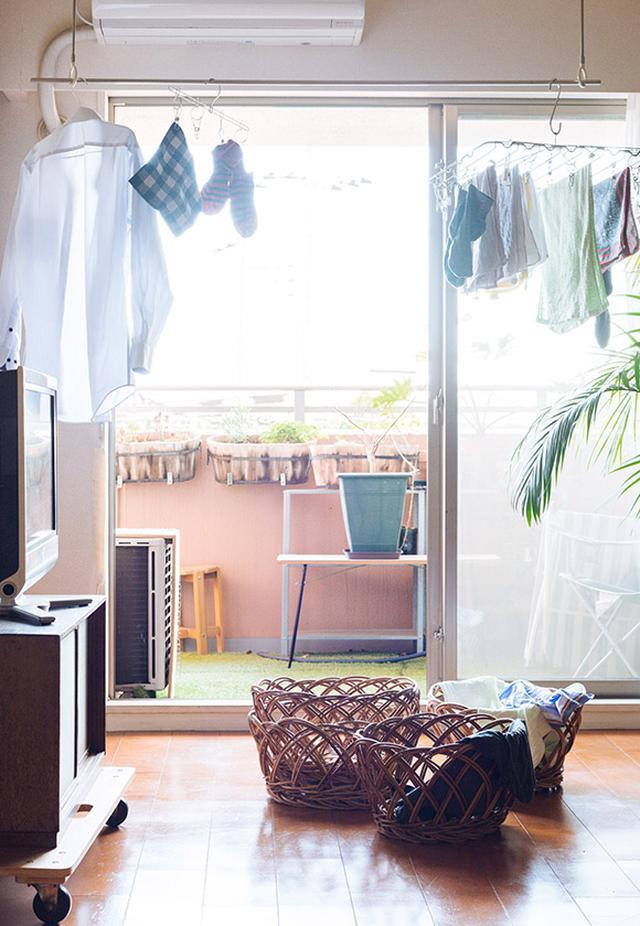 画像: 「洗濯」は工程数の多い家事