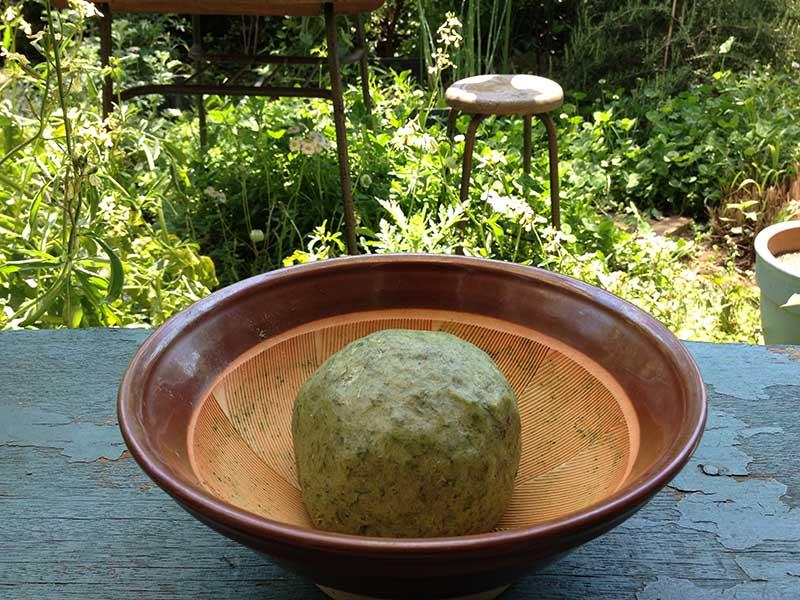 画像: ヨモギを使ったレシピの王道、草餅も最高に美味しい。