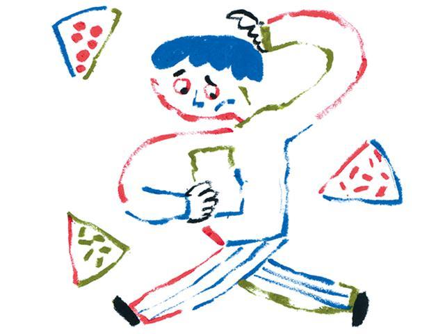 画像: 電子機器音痴、宅配ピザを頼む