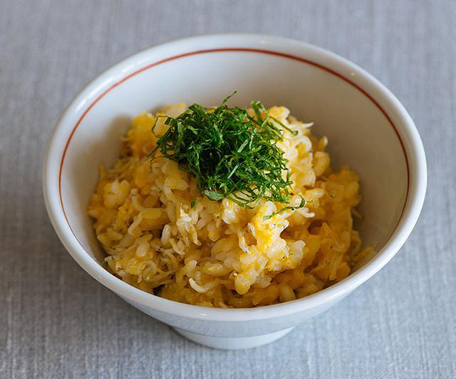 画像: お鍋でつくる、しらすの卵かけごはん