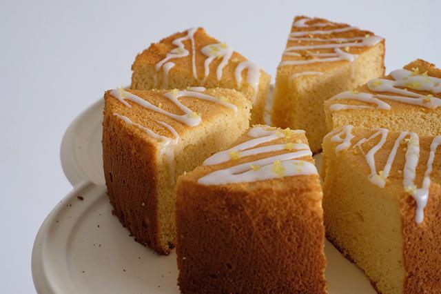 画像: 米粉のはちみつレモンシフォンケーキのつくり方