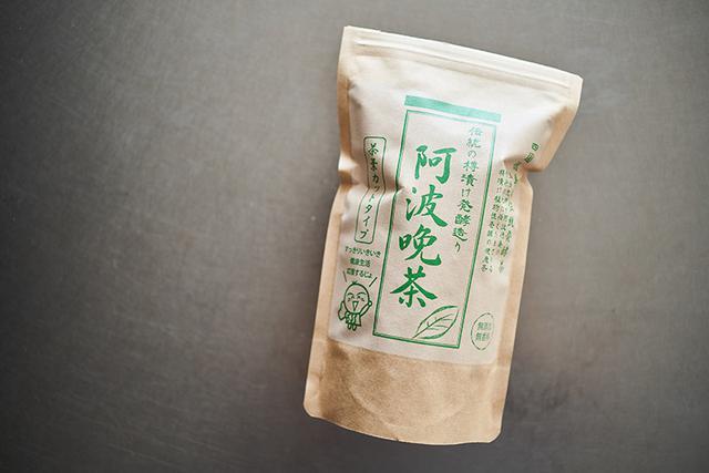 画像: 乳酸菌のほのかな酸味を感じられる「阿波番茶」