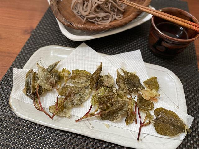画像: ドクダミの天ぷら