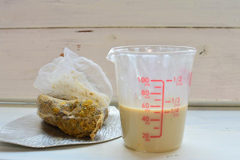 画像5: カモミールミルクのつくり方