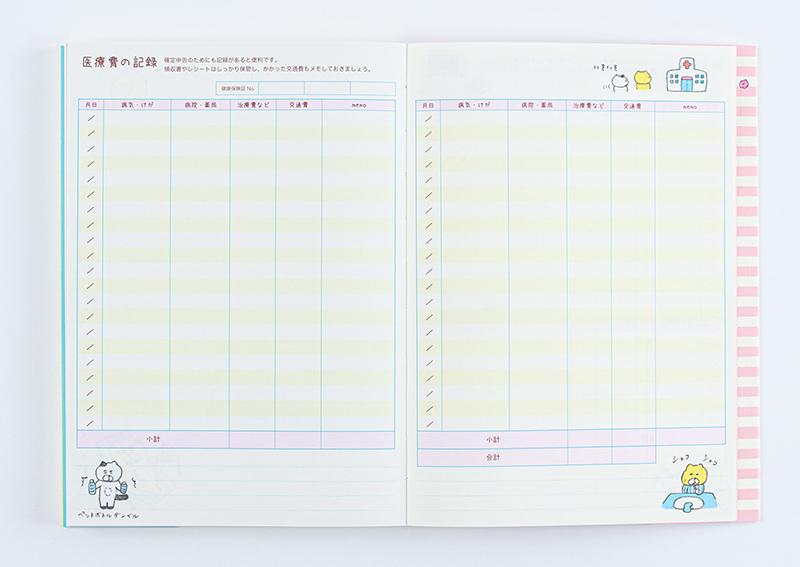 画像5: むだ遣いを意識して、貯まる家計に 「シッカリ家計簿」/オリエンタルベリー