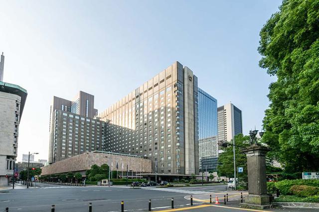 画像: 1970年から築50年あまりの歴史を誇る本館と、タワー館からなる「帝国ホテル 東京」外観