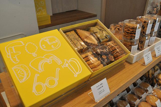画像: 人気のクッキーボックス。食べ終わったあとの箱もとっておきたくなるデザイン