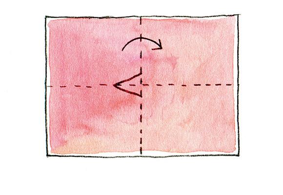画像5: 紙とはさみでつくる、七夕飾り「オルスイさん」のつくり方