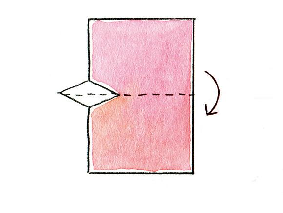画像6: 紙とはさみでつくる、七夕飾り「オルスイさん」のつくり方