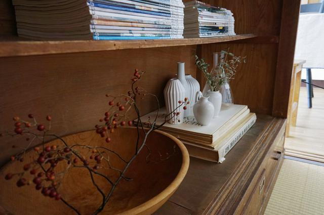 画像6: 書斎の文具はトレイを活用