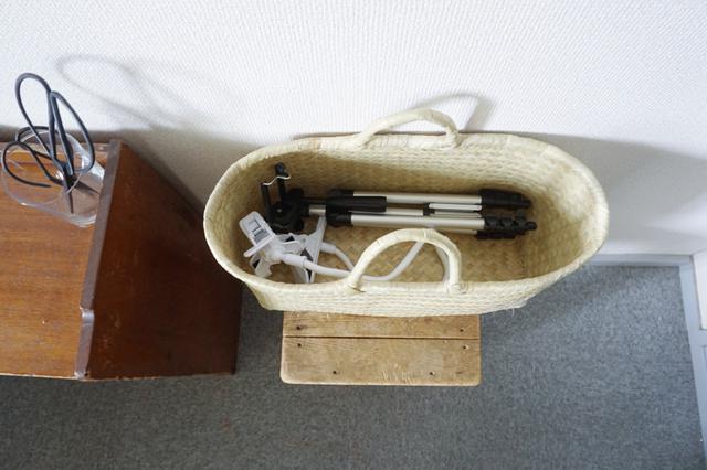 画像5: 書斎の文具はトレイを活用