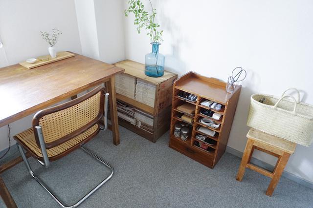 画像2: 書斎の文具はトレイを活用