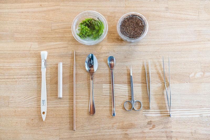 画像: お店で用意してくれた道具一式