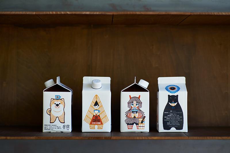 画像2: アイスコーヒーミニ4本セ ット専用BOX入り 3,300円(税込)