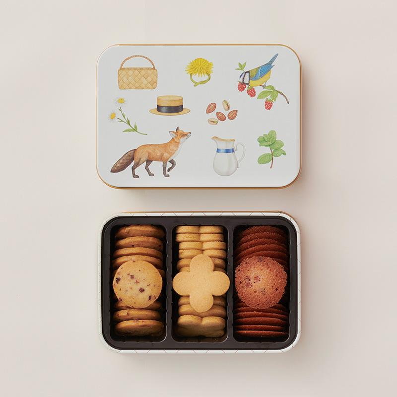 画像: クッキーボックスベリーズ 1,728円(税込)