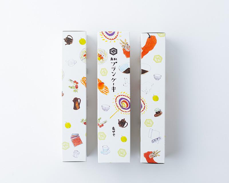 画像: 鳥取ブランケーキ 756円
