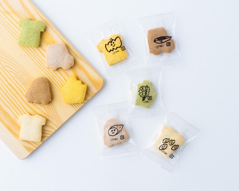 画像2: こどもクッキー(おとこのこ・おんなの・くだもの・やさい) 各648円