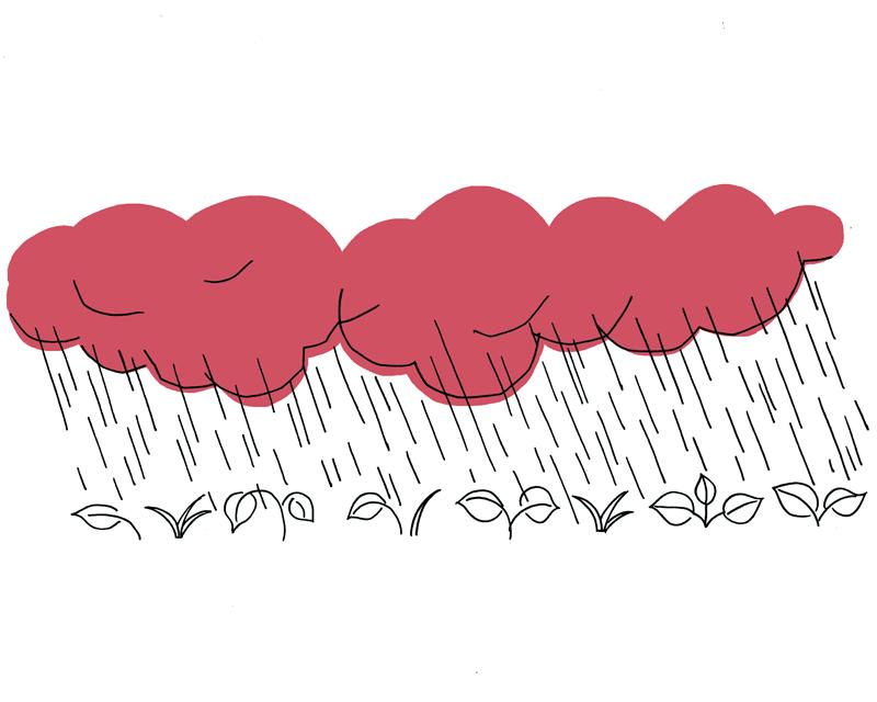 画像: 8月2日から8月6日ごろ 大暑末候・ 大雨時行[たいうときどきにふる]