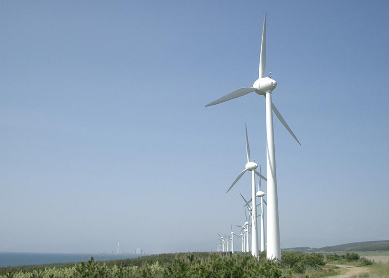 画像: グリーン電力100%で生産